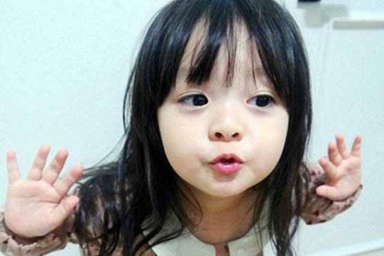 دختر بچه بانمک کرهای