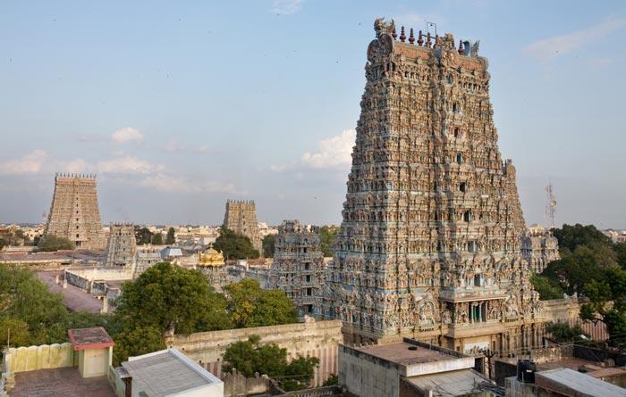 معبد میناکشی یکی از عجایب گردشگری هند و جهان !!!