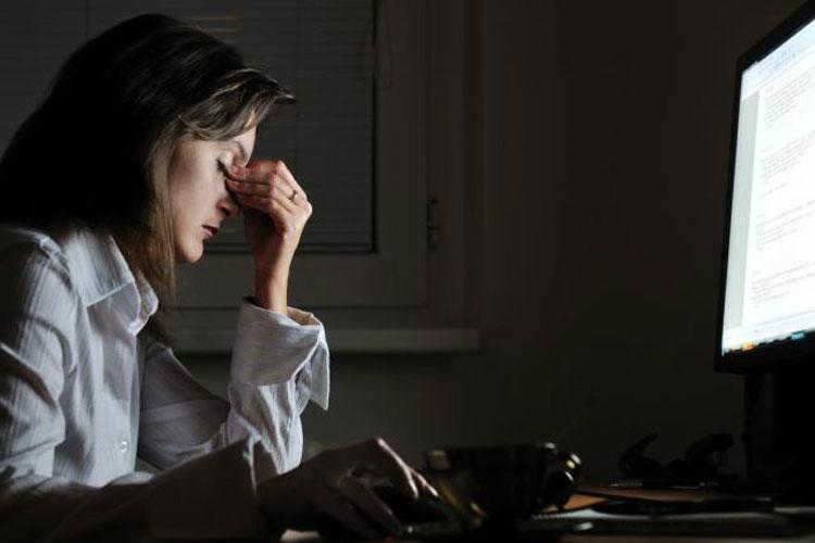 درمان بی خوابی استرس,Night work