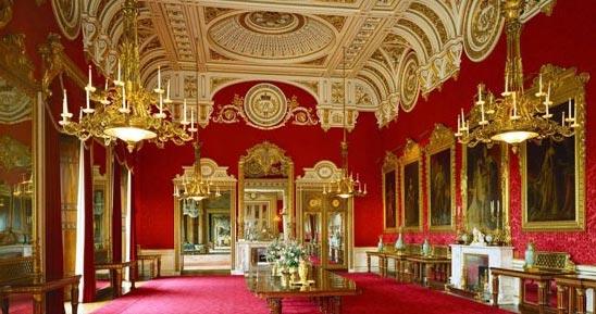 کاخ باکینگهام، لندن