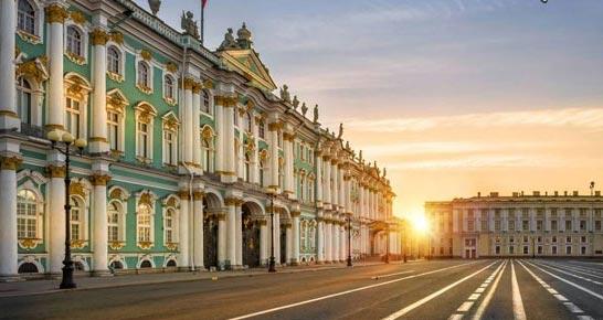 کاخ زمستانی، روسیه