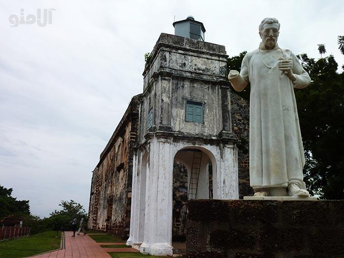 جاهای دیدنی ملاکا مالزی,St-Pauls-Church کلیسای سنت پل
