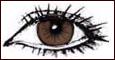 رنگ چشم قهوه ای