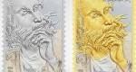 رونمایی از تمبر طلا و نقره حافظ شیرازی