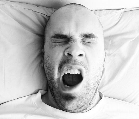 خواب آلودگی sleep