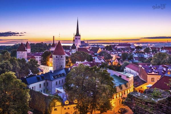 مسافرت با بودجه کم,استونی-Estonia