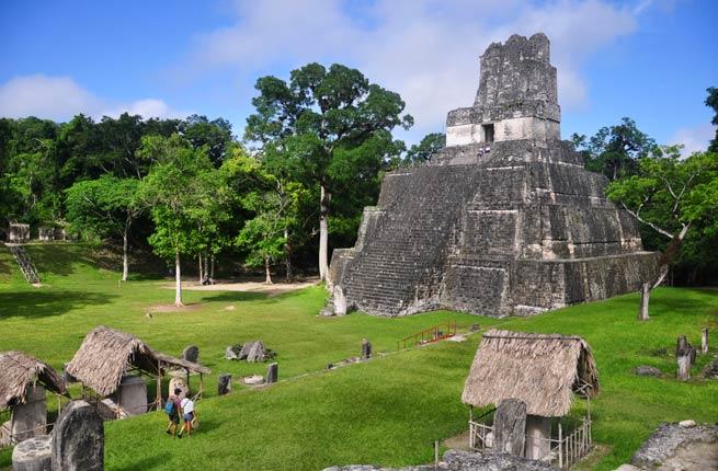 خرابه های عجیب و دیدنی در سراسر دنیا,تیکال-tikal-guatemala