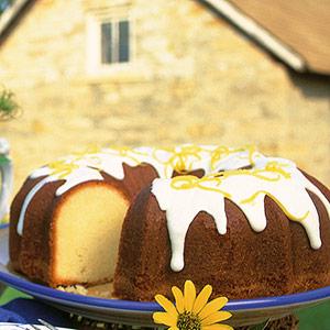 طرز تهیه کیک لیمویی