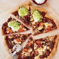 طرز تهیه پیتزای مکزیکی