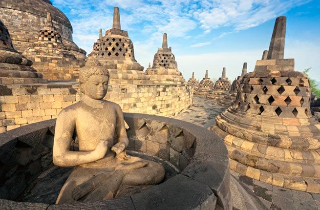 خرابه های عجیب و دیدنی در سراسر دنیا,بوروبودور-borobudur-indonesia