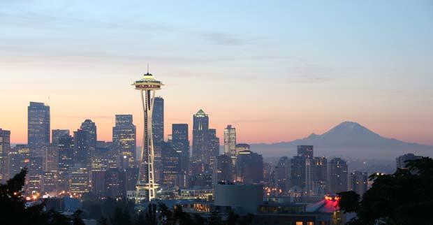 زیباترین پایتخت های جهان,سیاتل