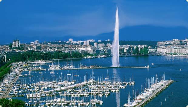 زیباترین پایتخت های جهان,ژنو