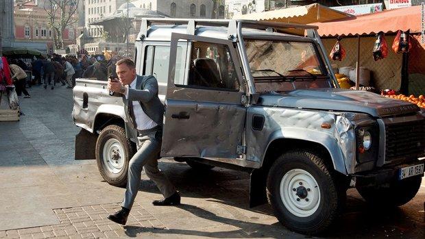 هیجان انگیزترین ماشینهای جیمز باند
