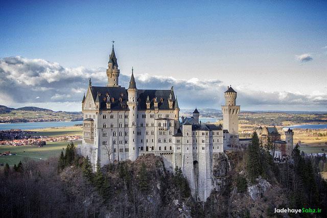 گردشگری آلمان Neuschwanstein