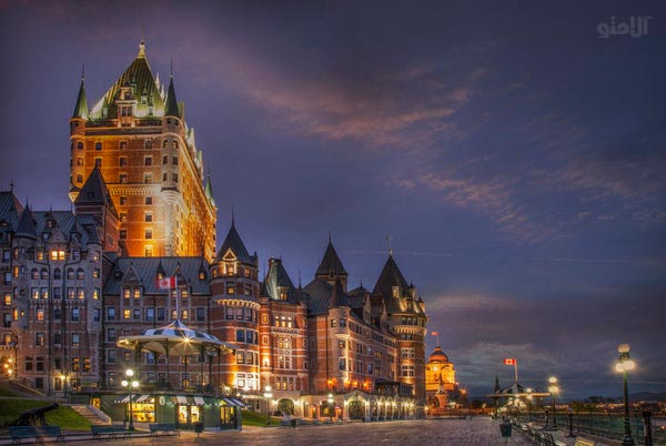 مسافرت با بودجه کم,شهر کبک در مشرق کانادا-Quebec-City-Canada