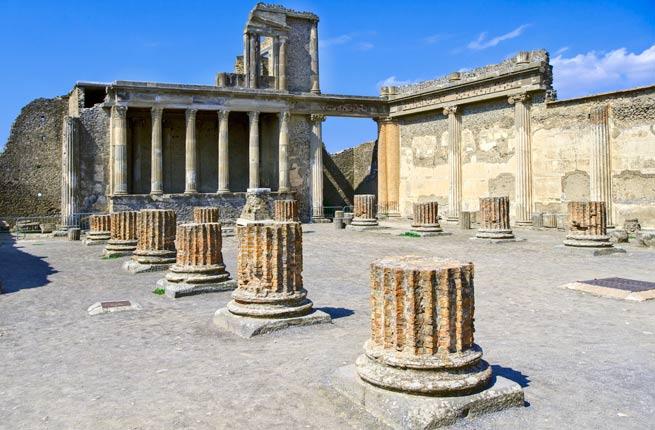 خرابه های عجیب و دیدنی در سراسر دنیا,پمپی-pompeii-italy