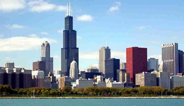 زیباترین پایتخت های جهان,شیکاگو