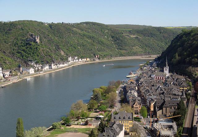 جاذبه آلمان Romantic-Rhine