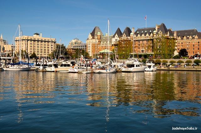 8 Victorias Inner Harbour برترین جاذبههای توریستی کانادا