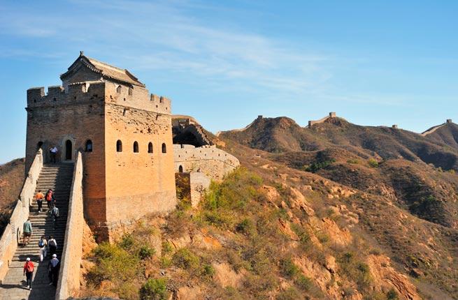 خرابه های عجیب و دیدنی در سراسر دنیا,دیوار بزرگ چین-great-wall-of-china
