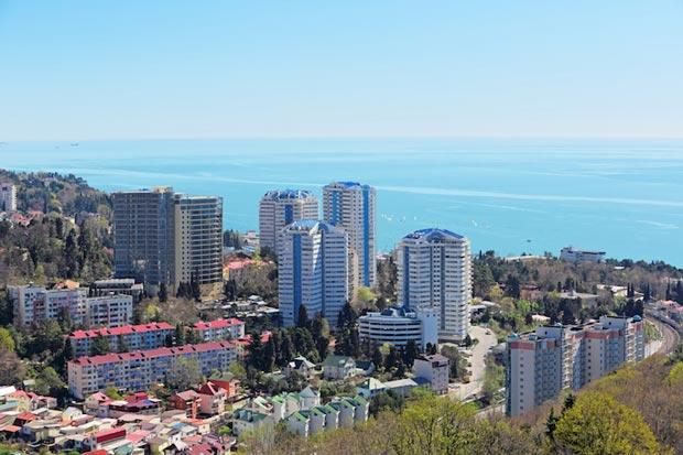 شهرهای دیدنی روسیه,سوچی-sochi