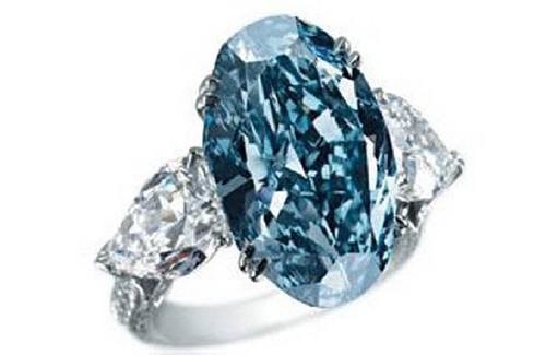گرانترین جواهرات دنیا,حلقه الماس آبی شوپارد