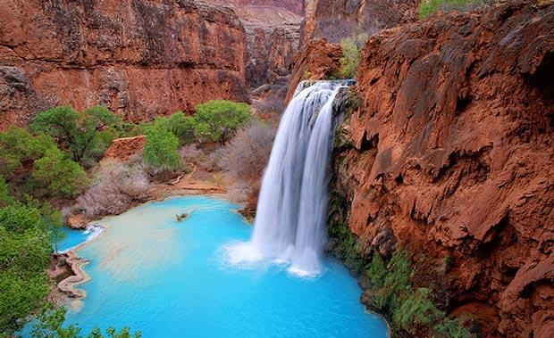 جاهایی که قبل از مرگ باید دید,آبشار های هاواسو