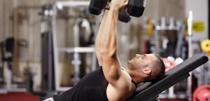 عضله بیشتر وزنه کمتر