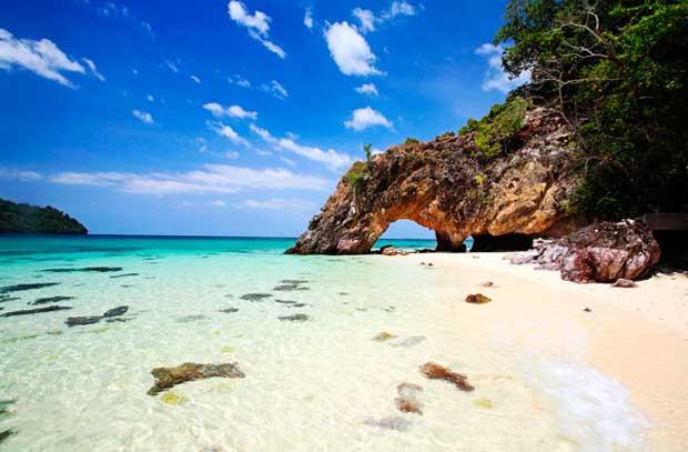 جاذبه های گردشگری کمتر دیده شده و آرام,Koh-Lipe-Thailand