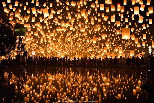 جربهی یک جشنوارهی تایلندی