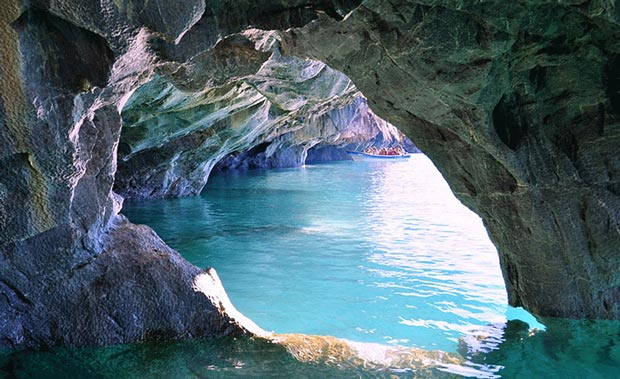 غار مرمر دریاچه ی کاررا