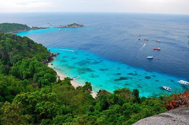 پارک ملی دریایی در جزایر سیمیلان
