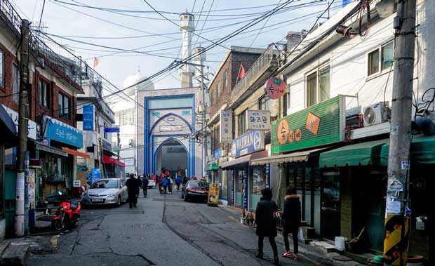 ارزان ترین مقاصد گردشگری جهان,SouthKorea-mosque