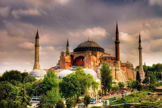 Top-Istanbul-Hagia مسجد ایاصوفیه
