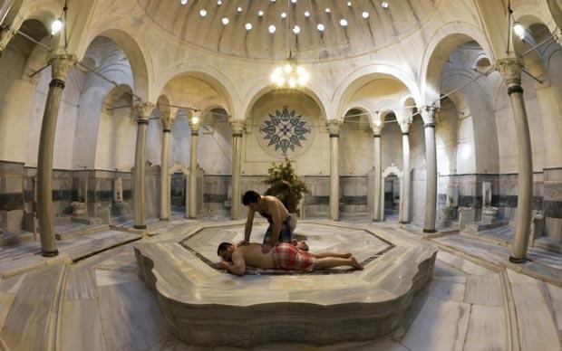 حمامهای استانبول ترکیه