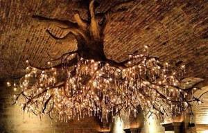 درخت لوستر Tree-Chandelier
