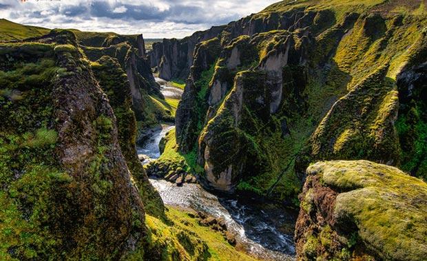 جاهایی که قبل از مرگ باید دید,fjaorargljufur-iceland-canyon