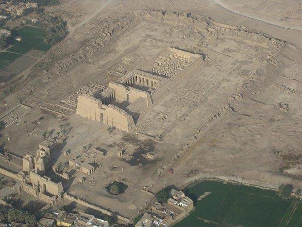 معبد مدینت هابو-Medinet-Habu
