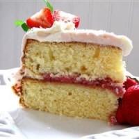 طرز تهیه کیک ساده سفید