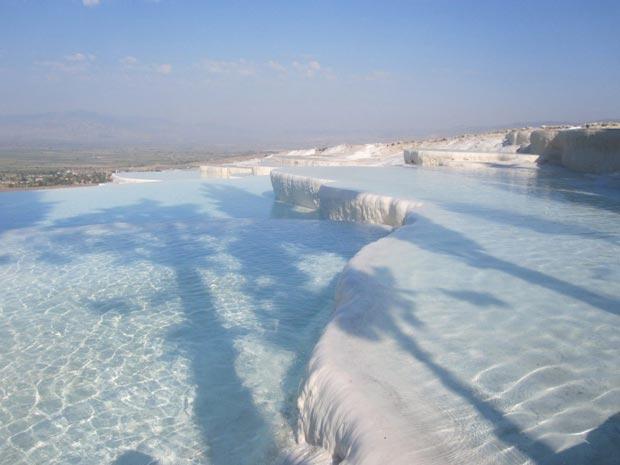 بهترین استخر جهان,استخرهای Pamukkale Thermal
