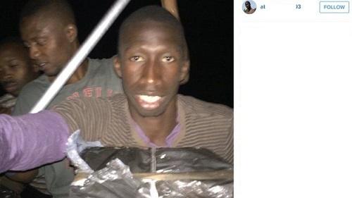 مهاجر سنگالی