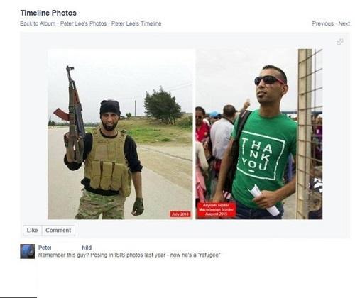 داعشی ها در میان مهاجران