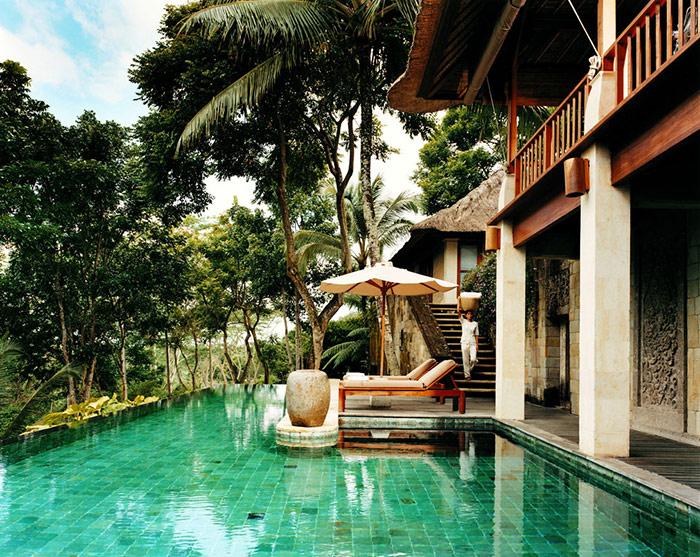 بهترین استخر جهان,استخر آبگرم Como Shambhala Estate