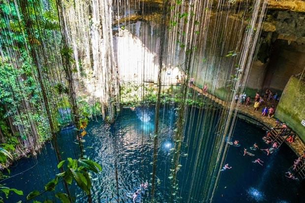 بهترین استخر جهان,استخر Ik Kil Cave