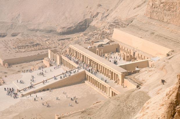 معبد حتشپسوت-Temple-of-Hatshepsut