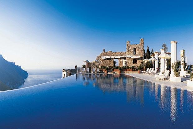 بهترین استخر جهان,6.استخر Infinity در Hotel Caruso