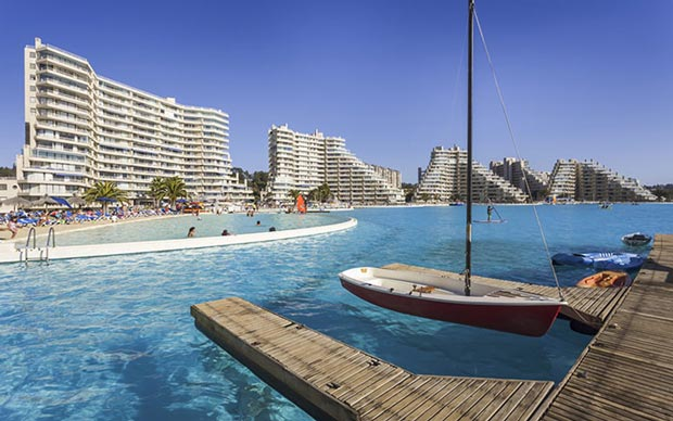بهترین استخر جهان,استخر آب دریایی The San Alfonso del Mar