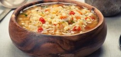 سوپ غلیظ سبزیجات فصلی