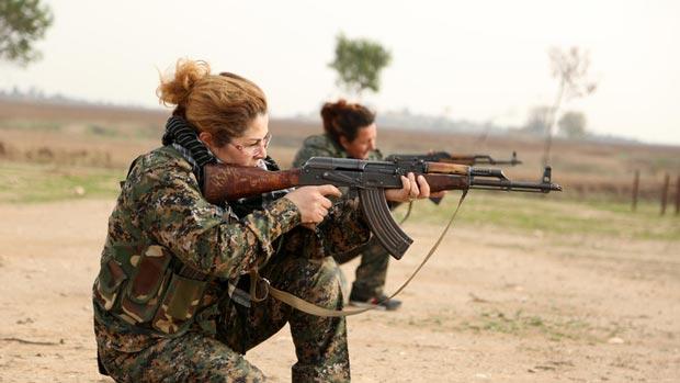 دختران در جنگ داعش