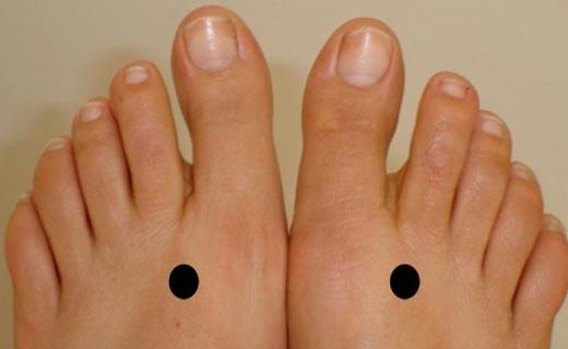 ماساژ پا برای کمردرد
